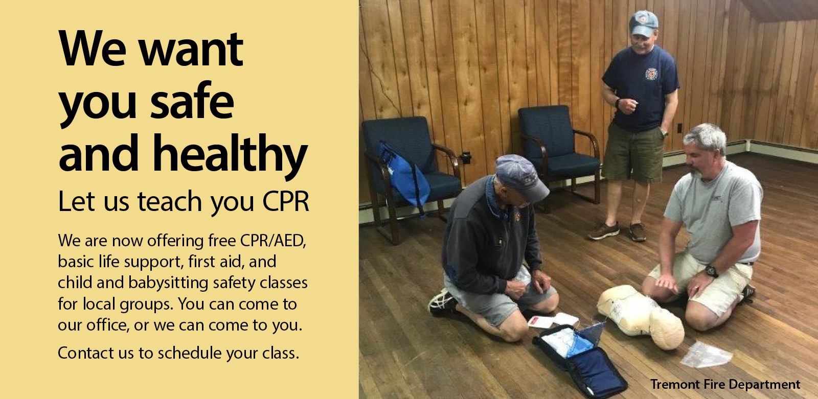 let us teach you cpr